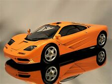 Minichamps McLaren F1 1993 - 1994 Road Car Orange Diecast Model Car 1:18