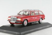A.S.S MINICHAMPS PMA 1:43 MERCEDES MB W123 200T ROT PC-BOX MIN032210