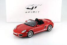 Porsche Boxster Spyder rot 1:18 GT-SPIRIT