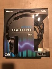 NoiseHush NX22 3.5mm HD Stereo Headphones - Original OEM NX22-11779 - Retail Pac