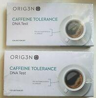 2 packs - ORIG3N GeneticHome Mini DNA Test Kit, Caffeine Tolerance