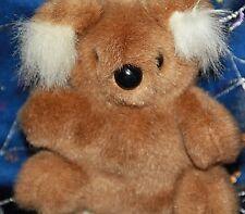 Koala handmade in Australia collectible koala by Anne Li authentic with tag bear