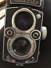 Rolleiflex F&H DBP 3.5F DBGM & Schneider-Kreuznach Xenotar 1:3.5 F75mm Lens