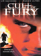 CULT OF FURY rare Thriller dvd Moral Sin Cleaners JIM DAVISON Marnie Alton 2001