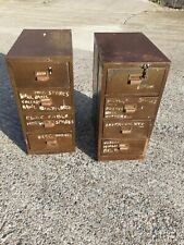 More details for vintage industrial drawers x 2