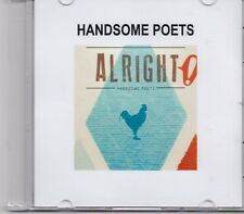 Handsome Poets-Alright Promo cd single