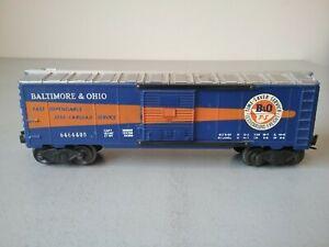 Postwar Lionel 6464-400 B&O Boxcar