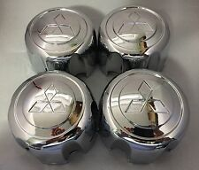 4PCS Replacement Wheel Center Hub Caps + Retention Clip for Montero Pajero Sport