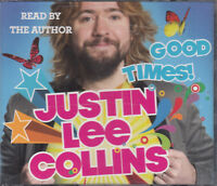 Justin Lee Collins Good Times 3CD Audio Book Abridged Autobiography FASTPOST
