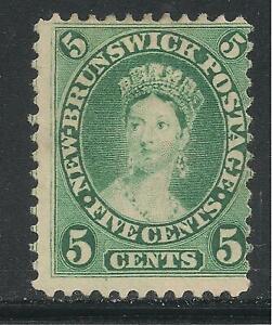 New Brunswick #8 (A5) FVF USED - 1860-63 5c Queen Victoria