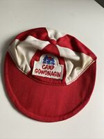 American Girl Doll Molly Camp Gowonagin Uniform HAT ONLY Cap Red White Logo
