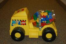 Vintage Lego Brick Mixer 2819 Duplo Cement Mixer Truck Construction Toy COMPLETE