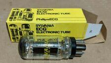 NEW Sylvania 6V6GTA Vacuum Tube. Black Plate