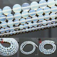 Natürlich Edelstein Rund Opal Perlen Transparent 4 - 12 mm Großhandel