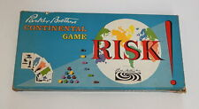 Risk! Vintage Board Game Parker Brothers 1959 With Original Box & Board R10465