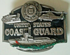 Great vintage United States Coast Guard metal belt buckle made U.S.A. Siskiyou!