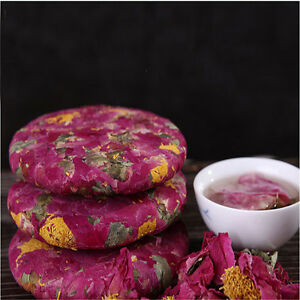 200g Peony Flower Tea Cake Nature Herbal Tea Healthy Tea Blooming Nectar Scented