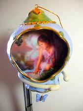 "Lisa Jane Enchanted Garden - #7 ""HIDDEN WONDER""- 2000 Bradford Exchange"