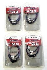 "4x Phiten Baseball MLB Minnesota Twins X30 Titanium Necklace Size 18"""