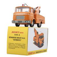 1/43 ATLAS Dinky Toys Diecast 589A Blue DEPANNEUSE BERLIET G.A.K. AUTOROUTES