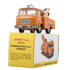 Diecast Dinky Toys 589 A DEPANNEUSE BERLIET G.A.K. AUTOROUTES 1:43 ATLAS