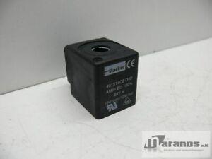 Parker 491514C2 D4B Amin Ed Solenoid Valve Solenoid 24V 16W Cold/12W Hot