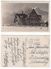 Oberstdorf im Allgäu, Bauernhof oder Gasthaus Foto AK 1932