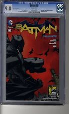 Batman (2011) # 32 SDCC Capullo Variant - CGC 9.8 WHITE Pages - Savage City III