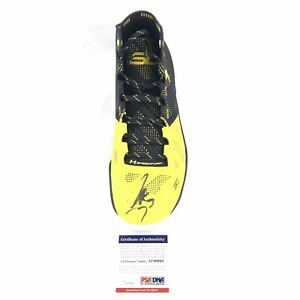 Stephen Curry Signed Under Armour Shoe PSA/DNA Warriors Autographed Sneaker