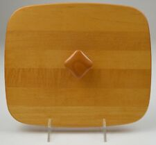 "Longaberger Woodcrafts Lid For Rectangle Basket 10.25"" Wide Collectible Decor"