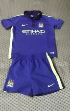 Manchester City  football kit size 4-5 years Nike