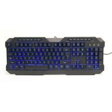 Powercool kb-768 V2 illuminata a LED USB Tastiera Gaming, Verde / Rosso / Blu LED