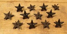 "Texas Star Nails Small 2"" Western 2"" wide (Set of 12) Crafts Decor 0170S-02111"
