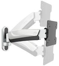 Monitor supporto a parete TV orientabile inclinabile regolabile in altezza 33-84cm/13-33 pollici