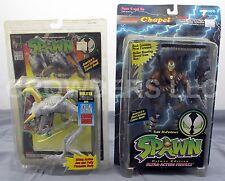McFarlane Toys Spawn VIOLATOR & Youngblood CHAPEL Action Figures w/ Comic NIP 94