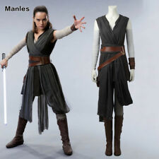 Star Wars Cosplay The Last Jedi Rey Costume Halloween Party Woman Outfits Suits
