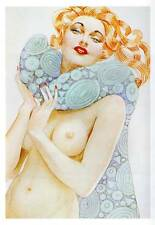 DECO Venus c 1930 vintage Alberto Vargas estampe originale Livre Plaque