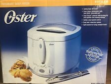 Oster Frysmart Deep Fryer ODF520 - New, Opened Box Cool Touch Easy Clean