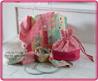 LEARN+TO+SEW+ACCESSORIES+KIT+%7E+Tote+Bag+%2B2+Patterns+%2BD+Rings+%2BModa+Lining+Fabric