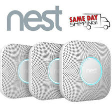 3 Pack Nest Protect Battery Operated Smoke & Carbon M Detector Alarm S3004PWBUS