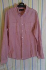 Mens Goodsouls Shirt Pink Size Small 100% Cotton Quality Casual