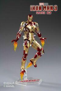 Zd Toys Iron Man 3 Mark XLII MK42 7'' Action Figure Collectible Presale