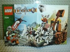 LEGO® Castle Fantasy Era 7040 Bauanleitung Zwergenmine ungelocht instruction