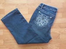 Earl Jean Women's Plus Capri, Cropped Jeans | eBay