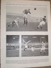 Photo article England beat Ireland at Belfast Soccer football 1931 ref Y2