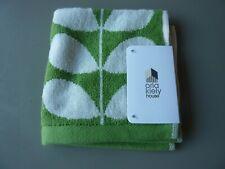 Orla Kiely Green Washcloth- Stem & Flower Designs Brand New/Tagged