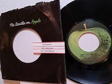 """THE BEATLES - Act Naturally / Yesterday 7"""" APPLE + jukebox strip"""