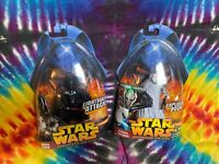 Star Wars Revenge Of The Sith 2 SITH LORDS Darth Vader & General Grievous Toy