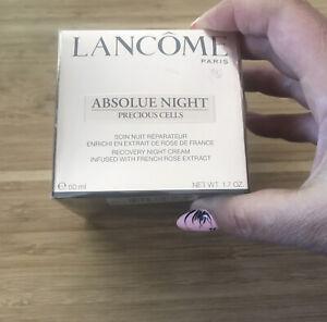 Lancome Absolue Night Precious Cells Recovery Night Cream 1.7oz./50ml. Sealed
