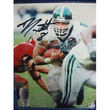 TJ Duckett Michigan State Spartans MSU Football Signed Autographed 8x10 Photo
